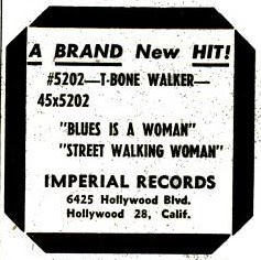 T Bone Walker Sings The Blues