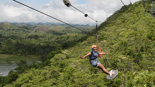 CHAP Bohol Adventure Curious Onion Surf Zipline
