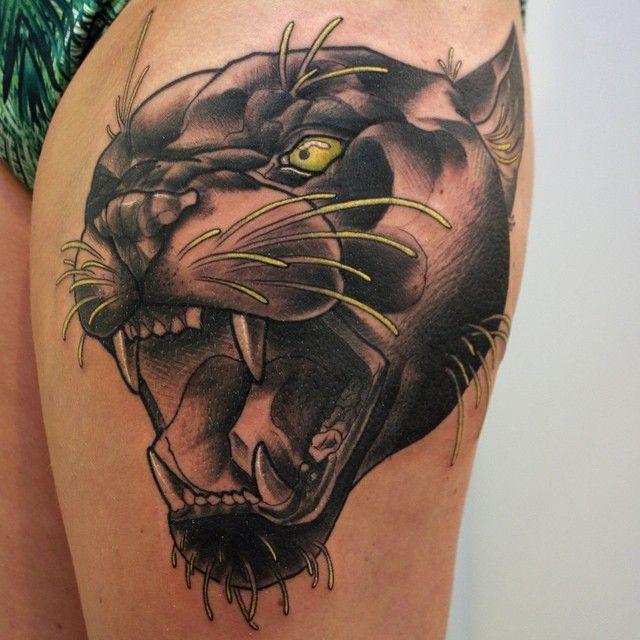 Leopard Tattoos Designs Ideas And Meaning: TATUAJES DE PANTERAS Y SU INCREIBLE PODER