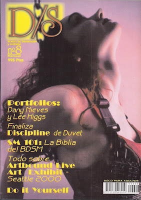 revista ds de dominacion sumision bdsm 2000