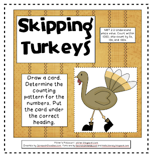 Skip Counting Turkeys!