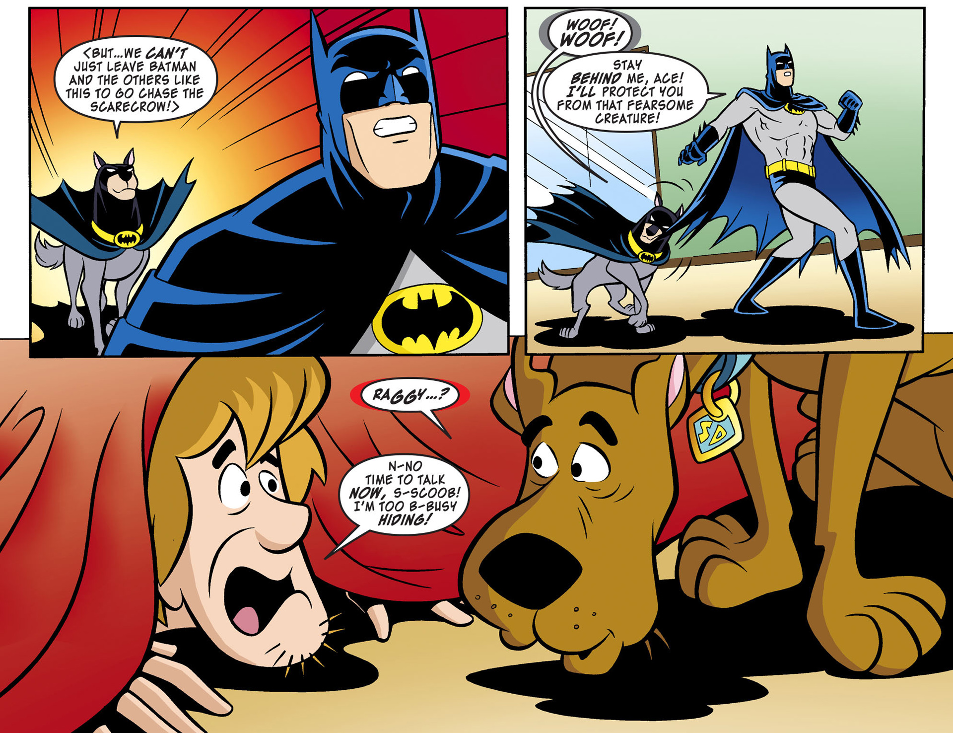 Read online Scooby-Doo! Team-Up comic -  Issue #3 - 18