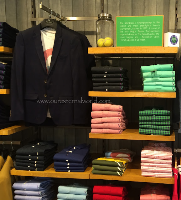 Allen Solly - Solly Sports Wimbledon Collection In Stores, playitfair