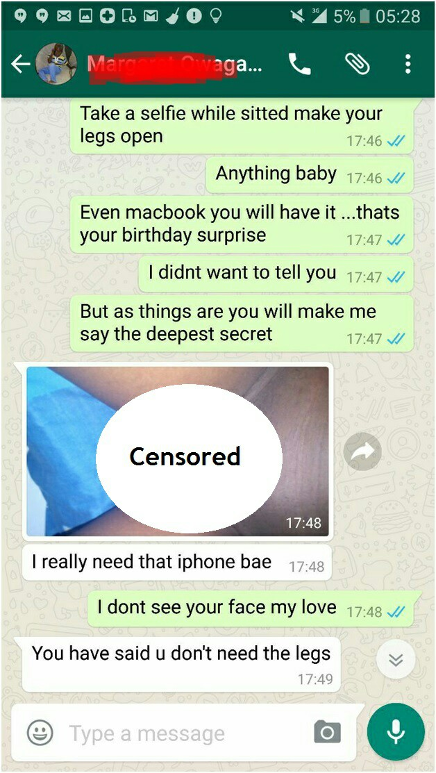 Just Because Of iPhone, She Sent Her Nude Pics To A Man