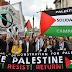 Aksi Bela Palestina, Ribuan Orang Penuhi Jalanan London