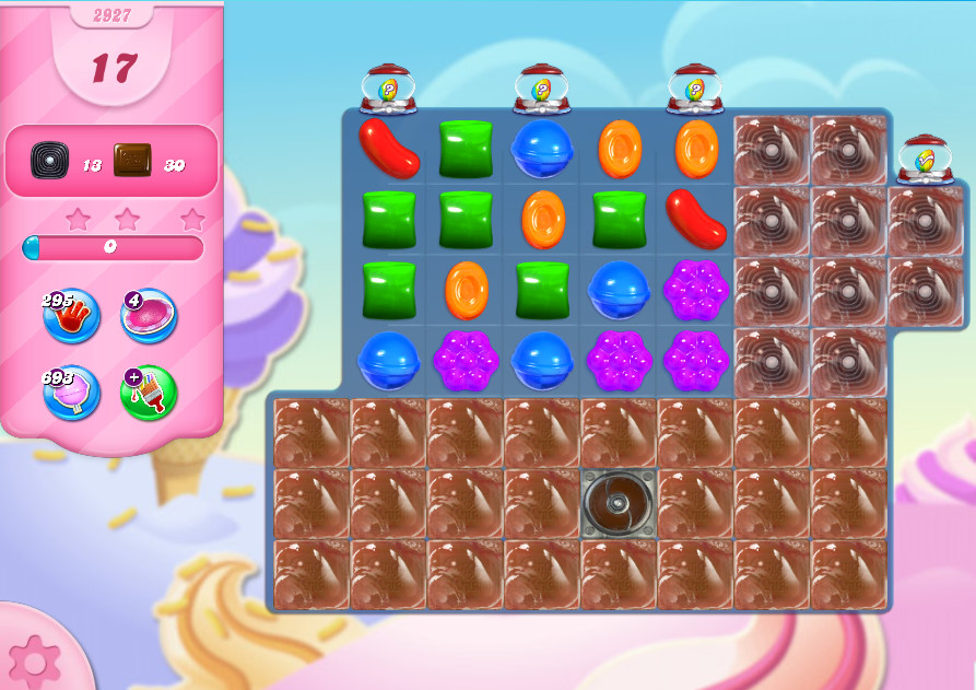 Candy Crush Saga level 2927