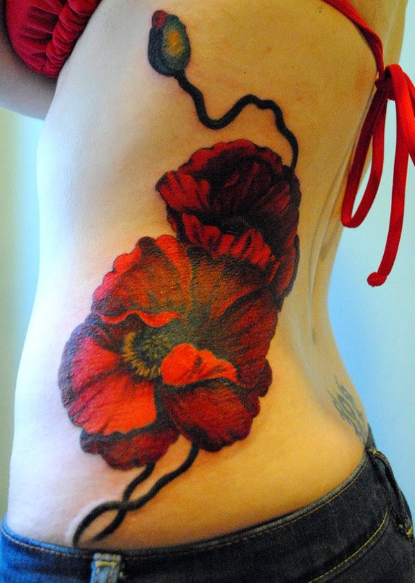 flower tattoo designs myth