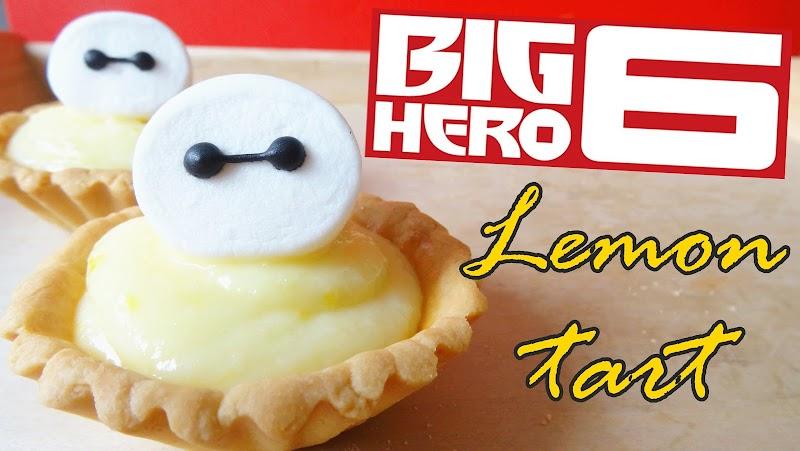 Big Hero 6 Lemon tart 大英雄聯盟檸檬撻