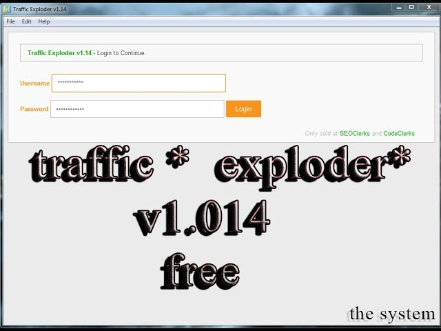 download traffic exploder v1.14 for free full version
