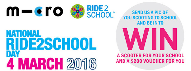 Ride2School Day Competition Call for Entries