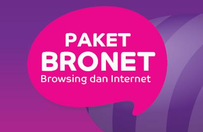 Paket Internet Murah Axis 24 Jam Bersama Paket BRONET