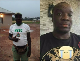 NYSC members shot dead in dead while standing with a teenage