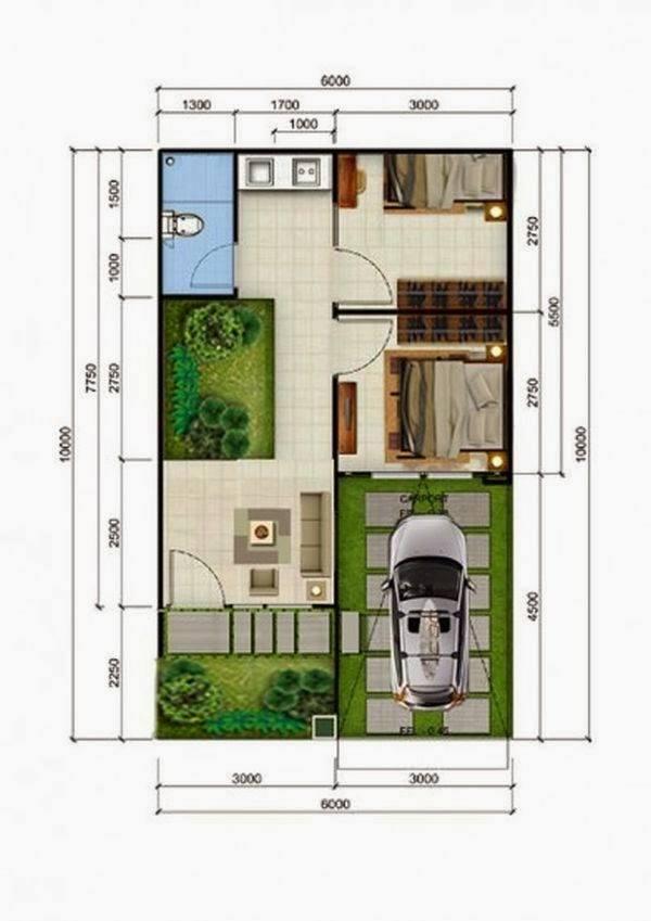 57 Gambar Layout Rumah Minimalis HD Terbaru
