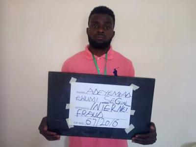 Gang Of 'Yahoo ' Boys Apprehended By EFCC In Ibadan