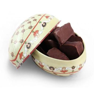 Chocolate Confection Easter Egg, Goupie Fabergé - £6.00