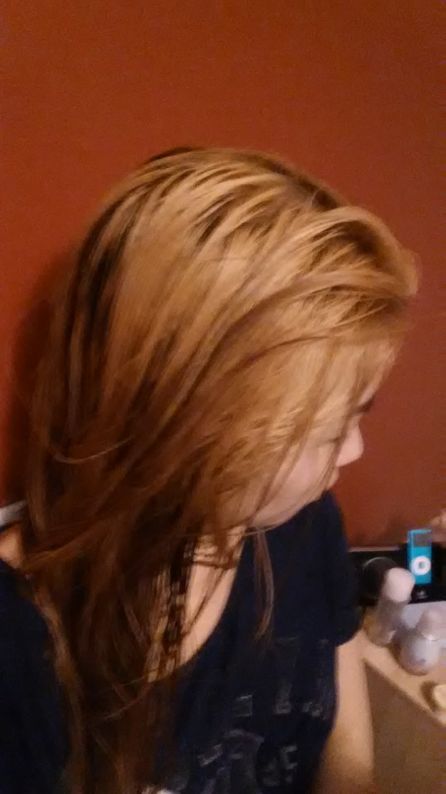 So I Let My Hair Rest For A Day And Decided To Bleach It Again The Next Shocking Enough After Bleached Came Out Softer Than