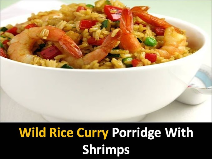 Fried Rice with Shrimps and Peppers