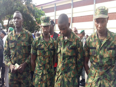 4 nigerian air force officers arrested