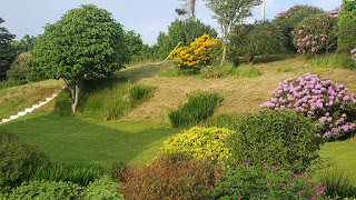 Beautiful gardens at Bridgend Hotel