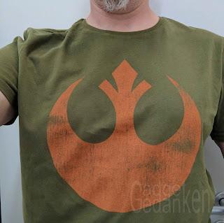 Nerdshirt: Logo der Rebellen