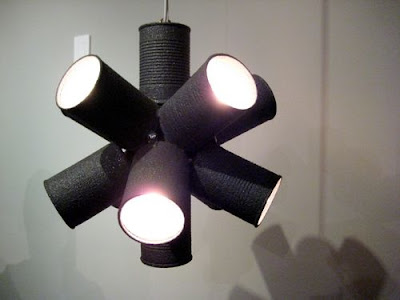 Creative Reused Lamps and Light Designs (40) 37