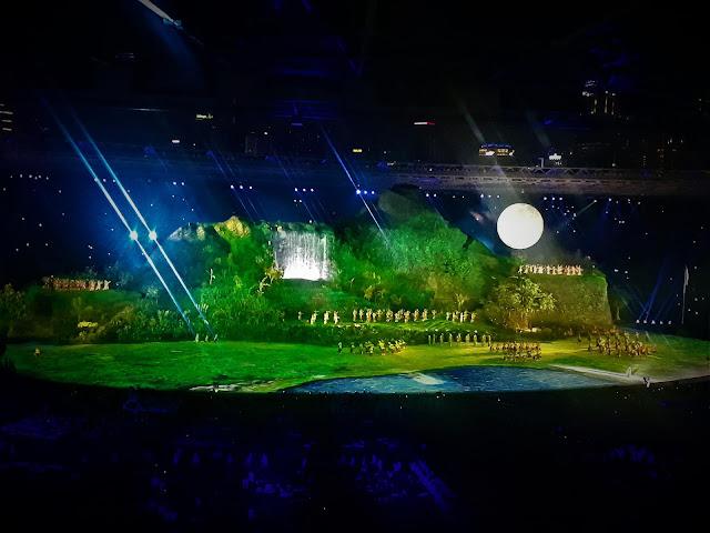 Bulan Purnama muncul dipanggung utama GBK