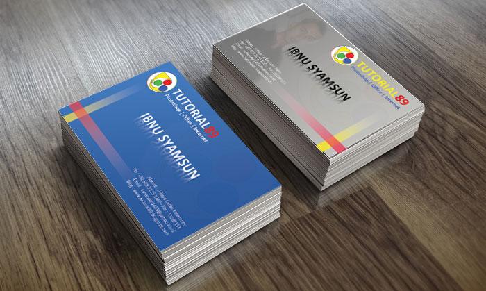 Cara membuat kartu nama dengan photoshop