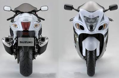 Suzuki Hayabusa front & rear look