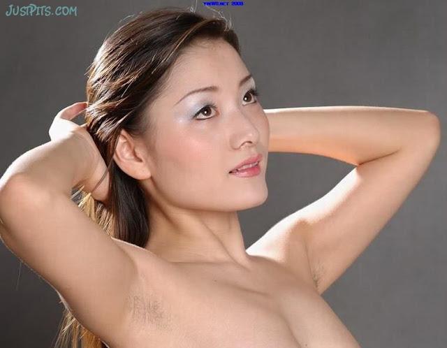real amateur hairy china armpit
