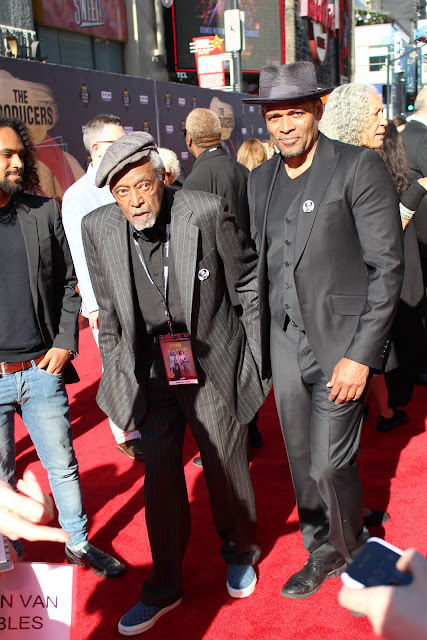 Melvin van Peebles and Mario van Peebles TCM Classic Film Festival