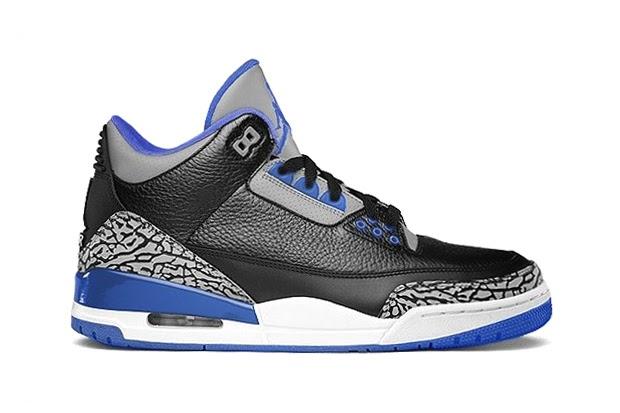 """93a10fdab75c TODAYSHYPE  Air Jordan 3 Retro """"Sport Blue"""""""