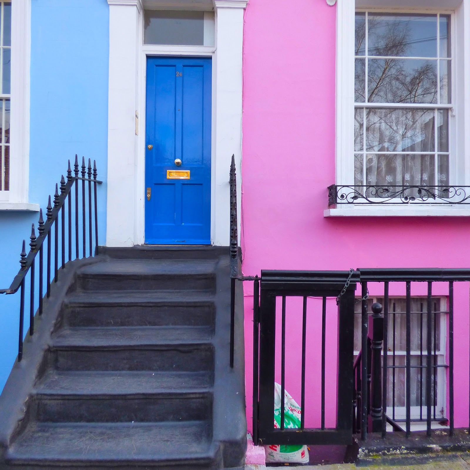The Colorful Houses of Notting Hill | Paige Taylor Evans