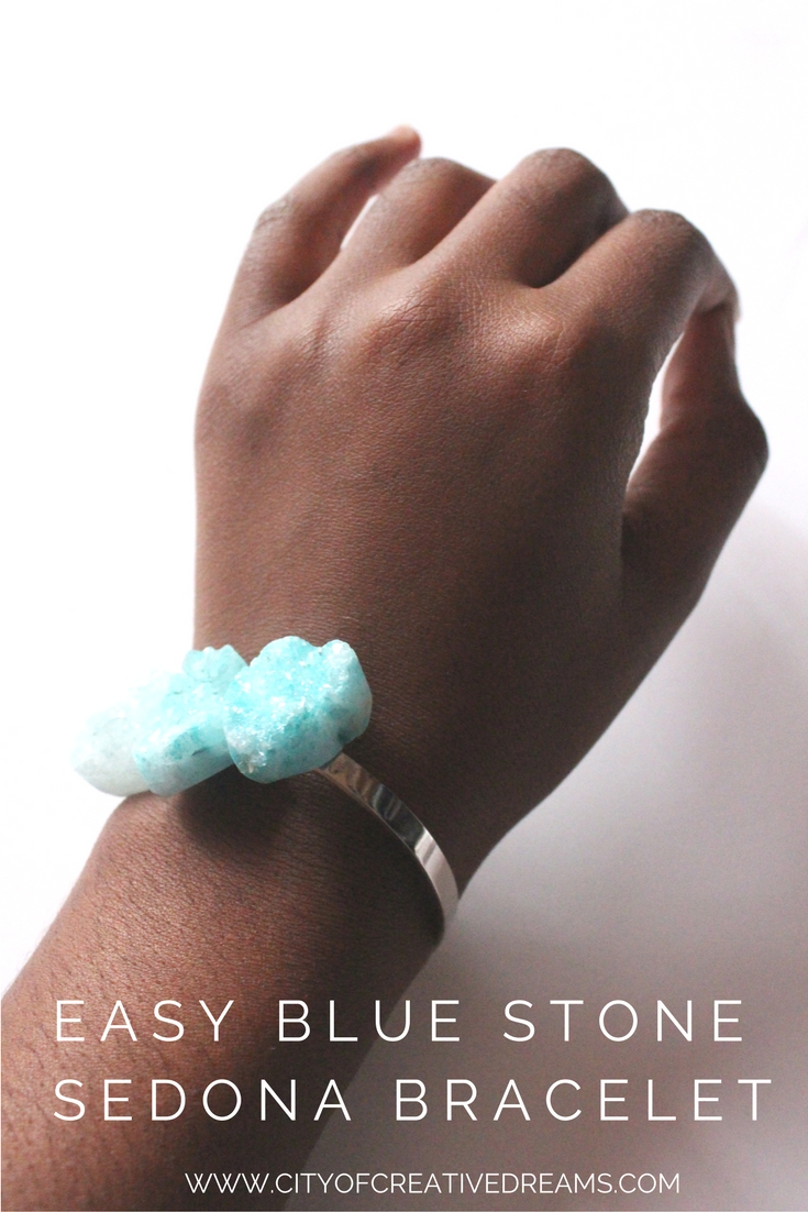 Easy Blue Stone Sedona Bracelet | City of Creative Dreams