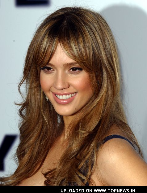 Jessica Alba Hairstyle And Hair Color Hair Style