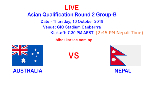 Watch Live Australia vs Nepal | FIFA World Cup 2022 Qualifiers | Live Streaming