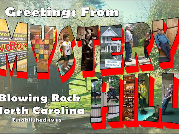 GIVEAWAY TIME: 4 Family Passes To Mystery Hill In Blowing Rock, NC #Giveaway