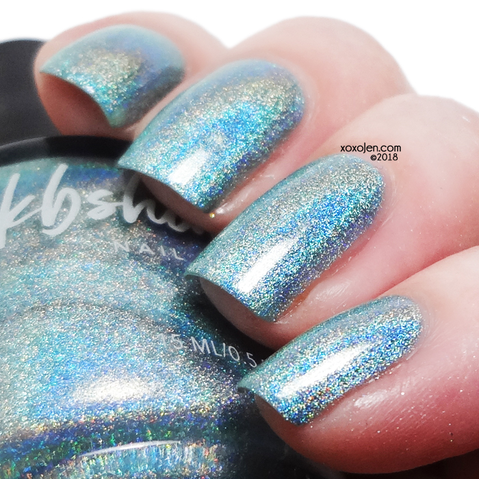 xoxoJen's swatch of KBShimmer Don't Fear The Reefer