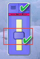 برنامج desktop lighter للتعديل علي سطوح الشاشة وتغيرات مستويات السطوع
