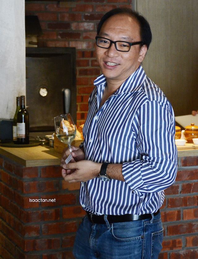 Yin How, Founder & Managing Director of Stoked Restaurant & Bar