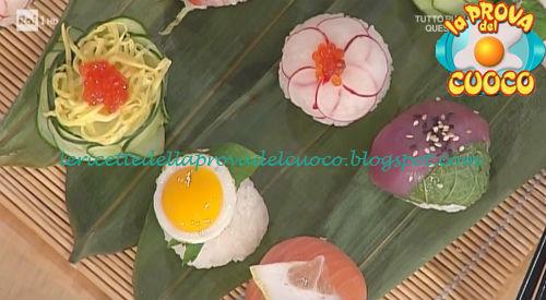 Temari-zushi ricetta Shoda da Prova del Cuoco