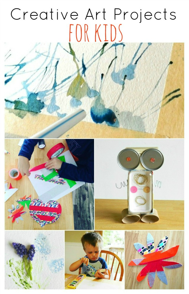 8 Creative Art Projects for Kids: Grow Creative Blog