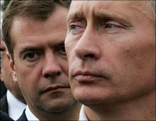 President Vladimir Putin and Prime Minister Dmitriy Medvedev.