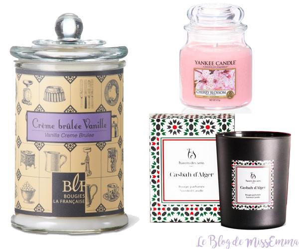 Le Blog de MissEmma • Wishlist - Les Bougies
