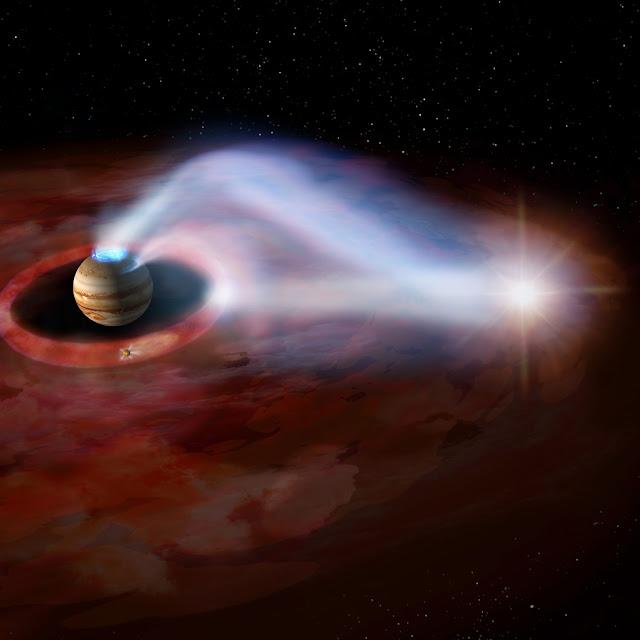 Jupiter's complex transient auroras