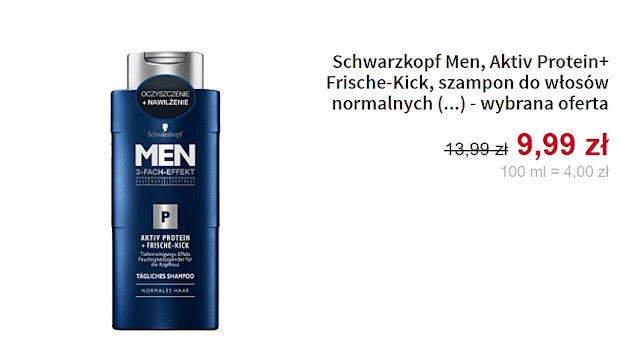 Schwarzkopf Men - Szampon do włosów