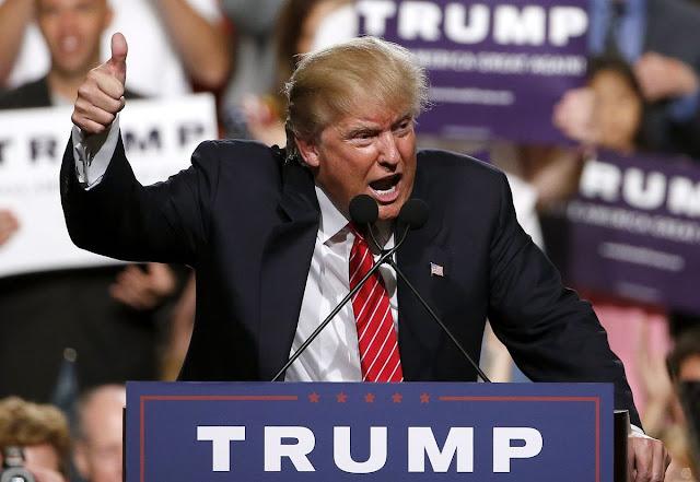 Donald Trump at Pentagon