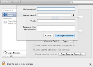 Reset Password Mac OS Via User Group