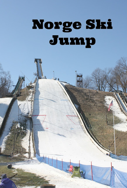 Norge Ski Jump in Fox River Grove, IL