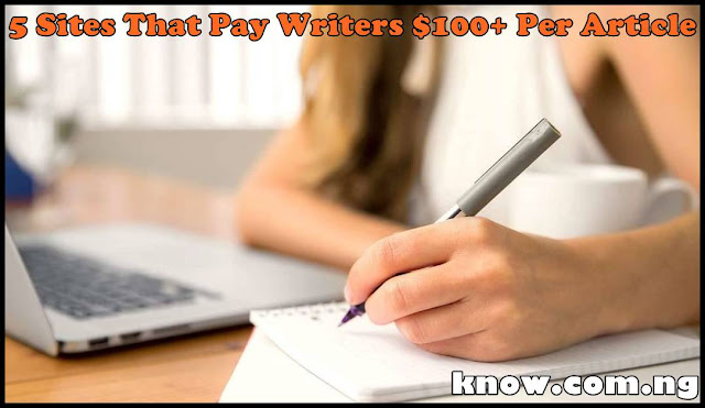 Get Paid For Writing In Nigeria