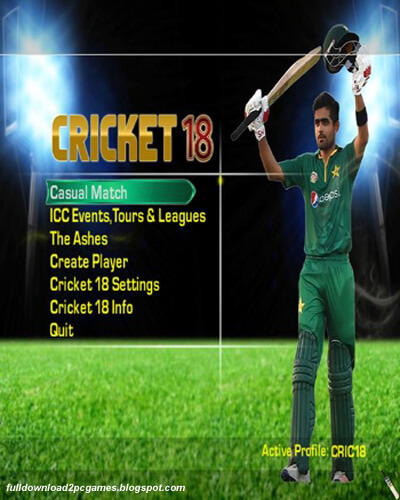 cricket 18 game download
